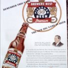 1947 Brewers Best Beer ad