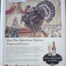 1938 Budweiser Beer ad