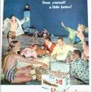 Budweiser Beer Beach Party ad