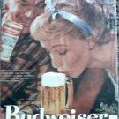 1957 Budweiser Beer ad #2