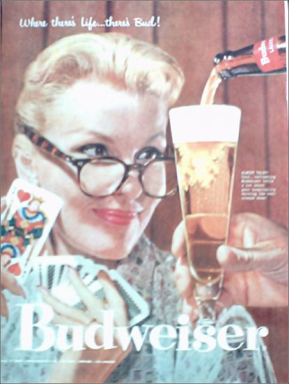 1957 Budweiser Beer ad #3