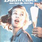 1960 Budweiser Beer ad #2