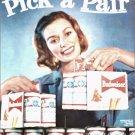 1960 Budweiser Beer ad #5