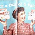 Budweiser Beer Pick A Pair ad