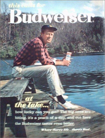 1962 Budweiser Beer ad #3