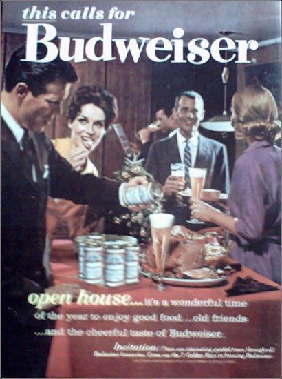 1962 Budweiser Beer ad #6