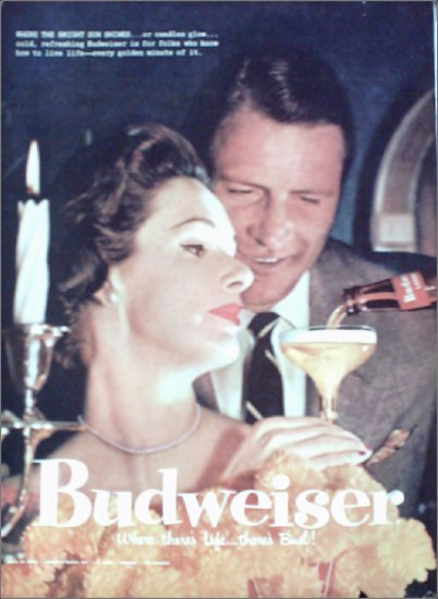 Budweiser Beer ad #1