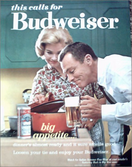 1963 Budweiser Beer ad #5