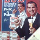 1967 Budweiser Beer ad with Ed McMahon