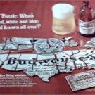 1968 Budweiser Beer ad #1