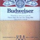 1987 Budweiser Beer Olympic Sponsor ad