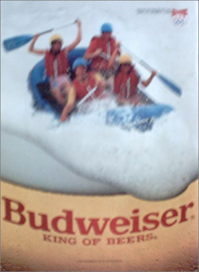 1988 Budweiser Beer ad
