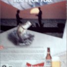 1995 Budweiser Beer ad #1