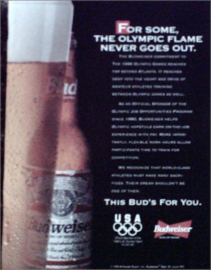 1995 Budweiser Beer ad #2