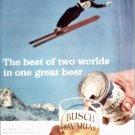 1963 Busch Bavarian Beer ad #1