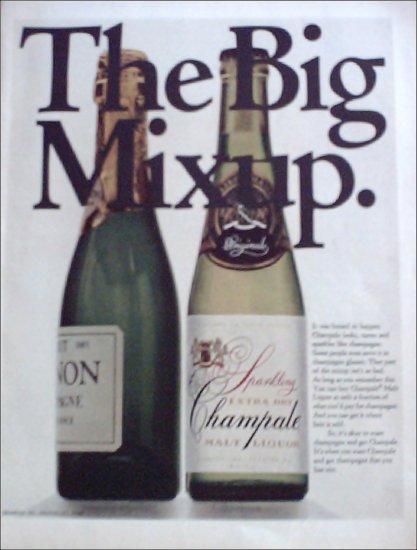 1968 Champale Malt Liquor ad