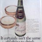 1969 Champale Malt Liquor ad #1