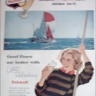 1960 Falstaff Beer Sailboat ad