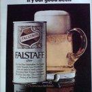 1969 Falstaff Beer ad #1