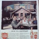 1960 Lone Star Beer ad