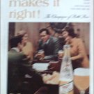 1968 Miller Beer ad #2