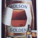 1980 Molson Golden Beer ad #1