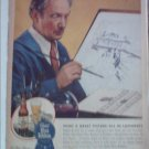 1945 Pabst Blue Ribbon Beer Artist ad