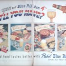 1952 Pabst Blue Ribbon 4th of July Beer ad
