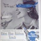 1956 Pabst Blue Ribbon Beer ad #1
