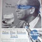 1956 Pabst Blue Ribbon Beer ad #2