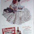 1944 Rheingold Beer Christmas ad
