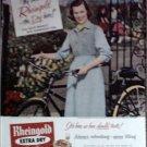 1956 Rheingold Beer ad featuring Miss Rheingold Hillie Merritt