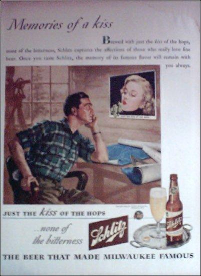 1944 Schlitz Beer ad #3