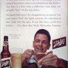 1955 Schlitz Beer ad