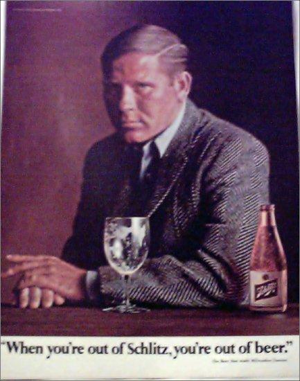 1966 Schlitz Beer ad #4