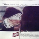 1966 Schlitz Beer ad #7