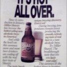 1990 Sharps Beer ad #4