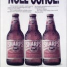 1990 Sharps Beer Christmas ad