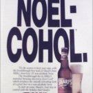 1991 Sharps Beer Christmas ad