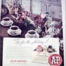 1949 A&P Coffee Christmas ad