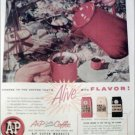 1956 A&P Coffee ad