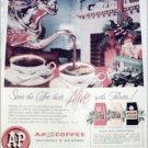 1956 A&P Coffee Christmas ad