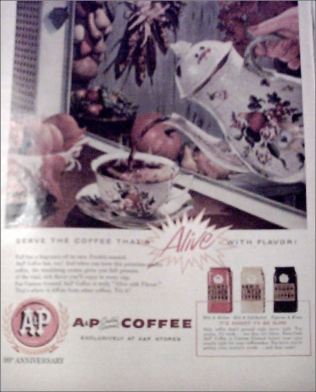 1958 A&P Coffee ad