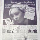1934 Chase & Sanborn Coffee ad