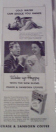 1941 Chase & Sanborn Coffee ad