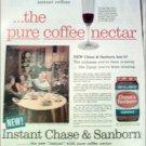 Chase & Sanborn Coffee ad #4
