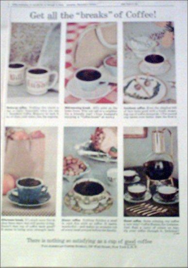 1956 Coffee-break ad