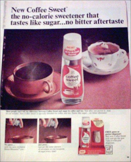1965 Coffee Sweet ad