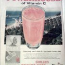 1960 Florida Orange Juice ad