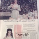 1970 Florida Orange Juice ad featuring Anita Bryant